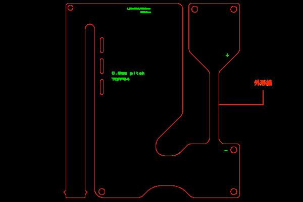 サンプル基板のデータ