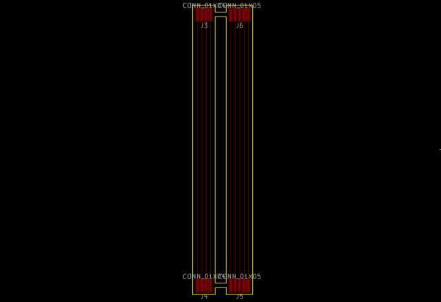 4極と5極のケーブル