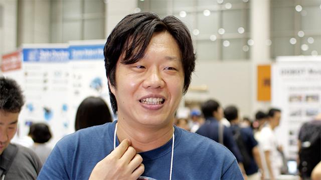 セメダイン株式会社 開発部  研究第3グループ 岡部祐輔さん