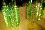 フレキシブル基板(FPC)巴型構造を用いた伸縮性LEDランプ