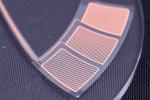 メタルメッシュ型静電容量式タッチセンサー