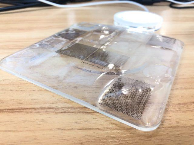 静電容量式のタッチセンサー
