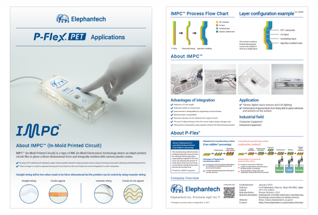 P-Flex® for IMPC™ (In-Mold Printed Circuit)