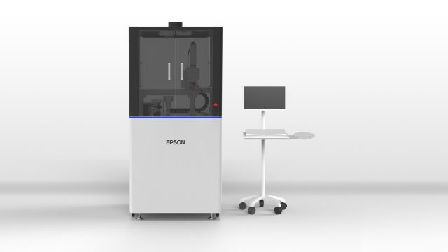 【Ink Discharge Evaluation Service blog : 2】Video presentation of Epson's inkjet machine for R&D purposes.
