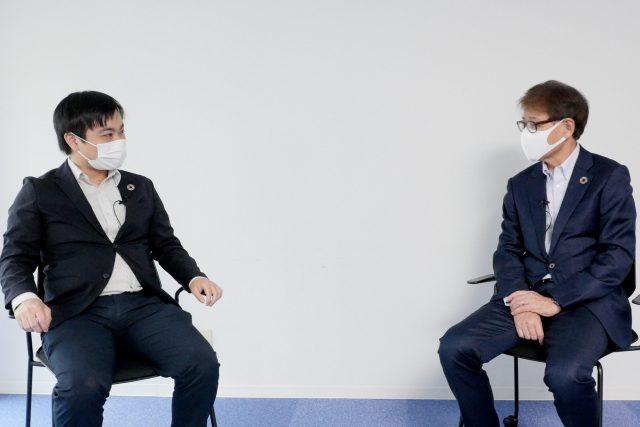 Special Talk Session:三井化学株式会社 代表取締役副社長 松尾英喜様 × 弊社代表取締役社長 清水信哉